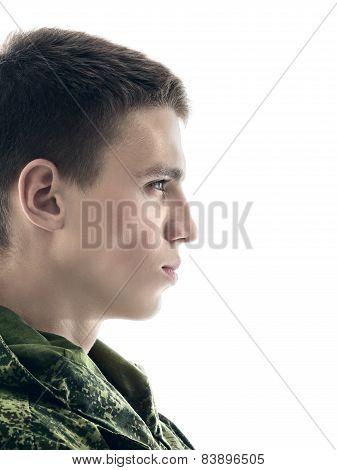 Military Man Portrait