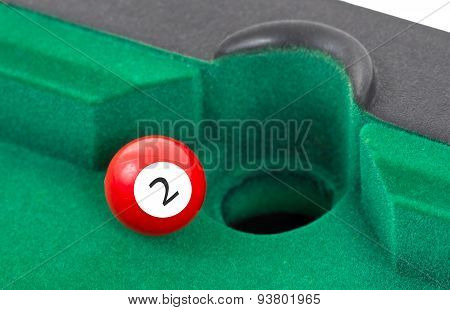 Red Snooker Ball - Number 2