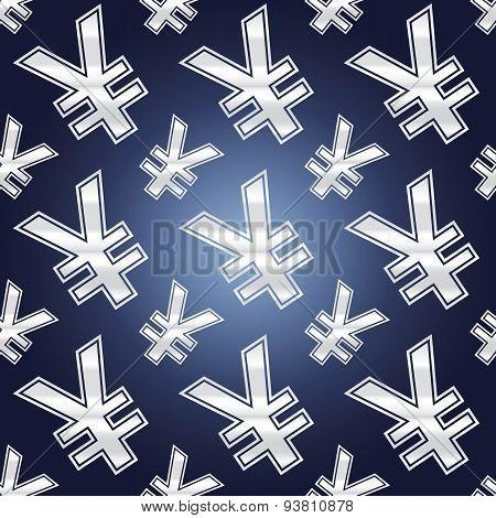 Seamless Yen Symbols
