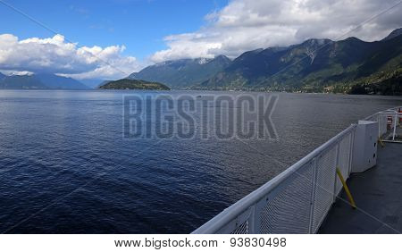 Howe Sound from a Ferry