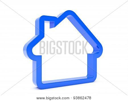 Blue House as an icon
