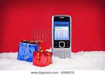 Text Message To Santa