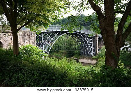 IronBridge in Shropshire, UK.