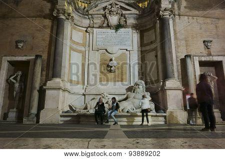 Marphurius Fountain In Rome