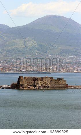 Castel Dell Ovo In Naples