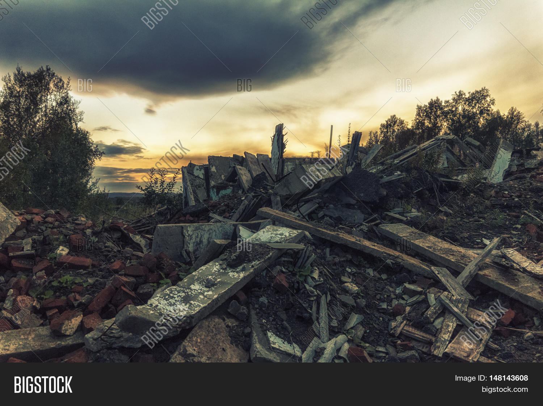 apocalyptic landscape image photo free trial bigstock