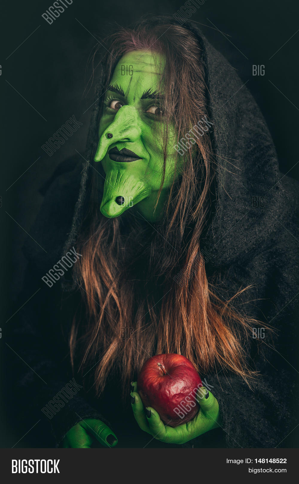 Evil Witch Holding Image & Photo (Free Trial) | Bigstock