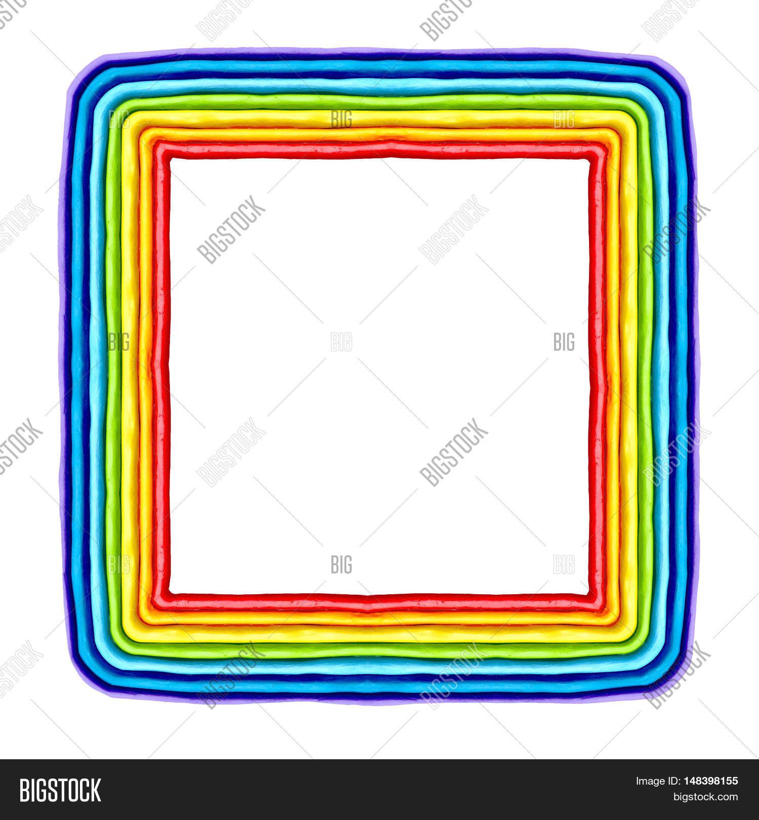 Rainbow, Frame, Border Image & Photo (Free Trial) | Bigstock