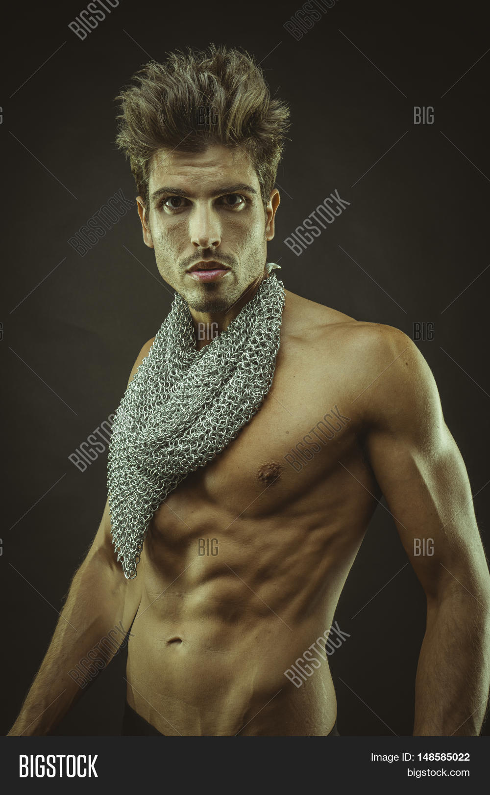Muscular Man Brown Image & Photo (Free Trial) | Bigstock