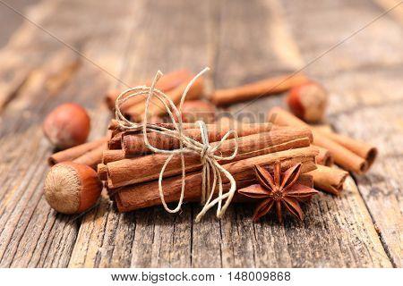 cinnamon,anise and nut
