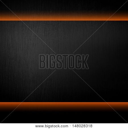 black metal template with light background