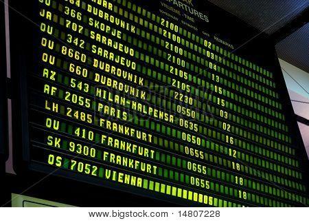 airport display