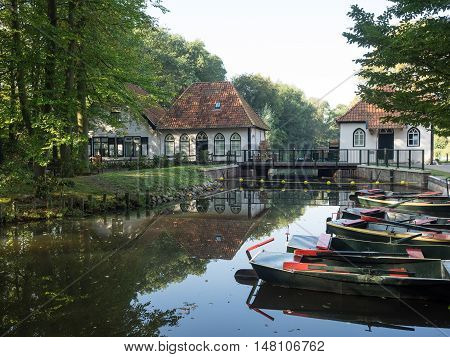 a river near winterswijk in the netherlands