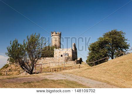 Mühlburg - Castle Ruine Landscape in Germany