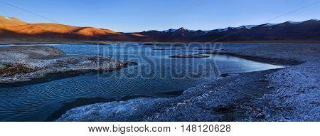 Tso Kar Lake In Ladakh, Jammu And Kashmir, India