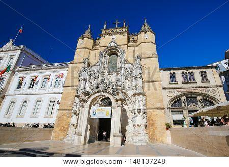 Monastery Of Santa Cruz (coimbra)