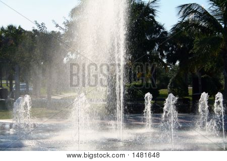 Park Water Fountain