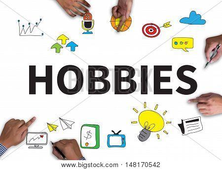 Hobbies Activity Amusement Freetime Interest