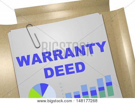 Warranty Deed Concept