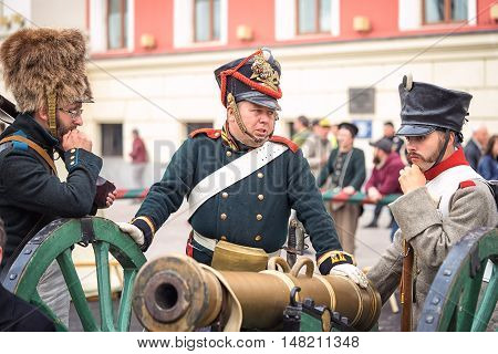 Moscow, Russia - September 11, 2016: The Celebration Of 869 Years Of The City Of Moscow. Historical