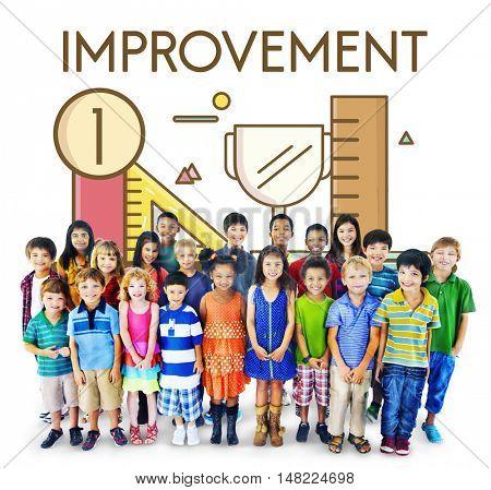 Improvement Deevlopement Enhance Refine Growth Motivation Concept