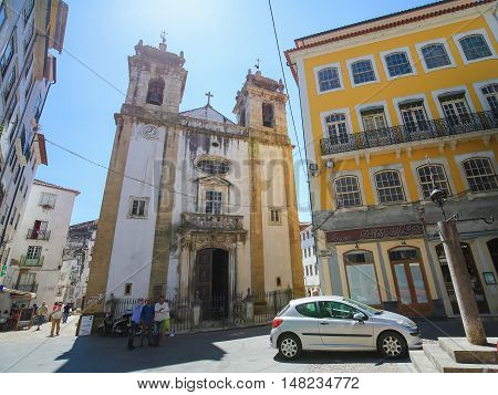 St Bartolommeo Church In Coimbra, Portugal