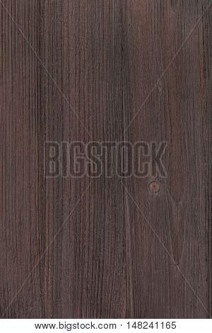 Wooden Board Of Dark Brown Color