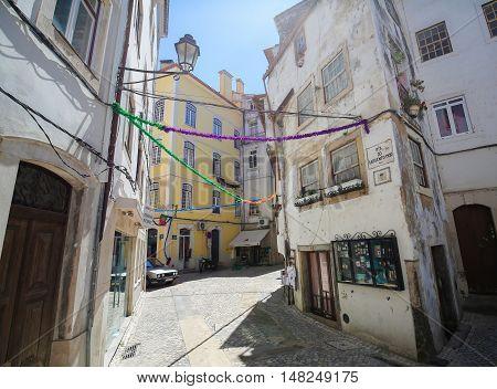 Historic Center Of Coimbra, Portugal