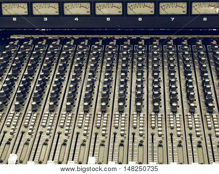 Vintage Looking Soundboard