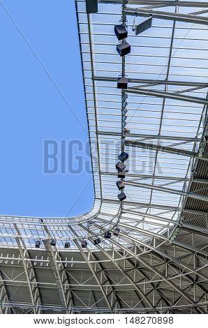 Modern Stadium Roof Construction