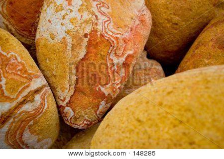 Golden Brown Rocks