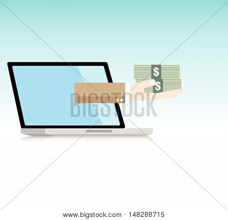 Online Business By Laptop