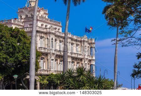 Hispanic Embassy, Havana, Cuba
