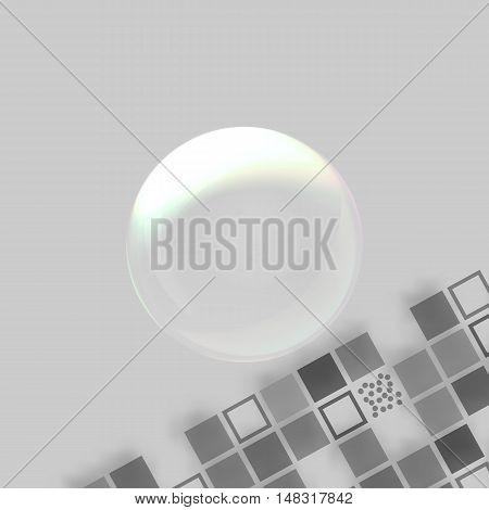 Soap Bubble Vector Icon