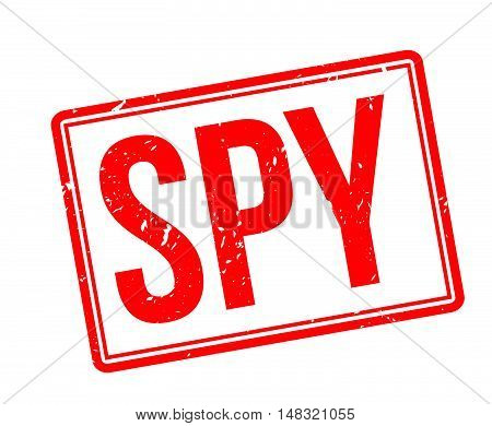 Spy Rubber Stamp
