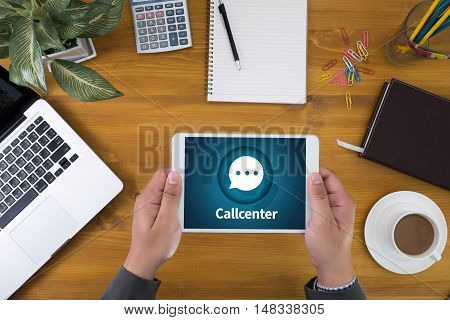 Callcenter Helpdesk Support  Information Support And Callcenter