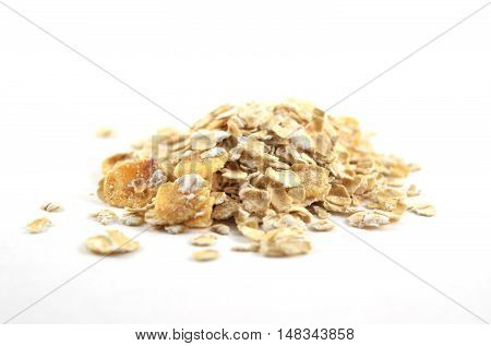 Pile Of Instant Oatmeal