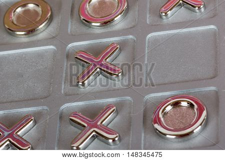 Metal Tic Tac Toe Board