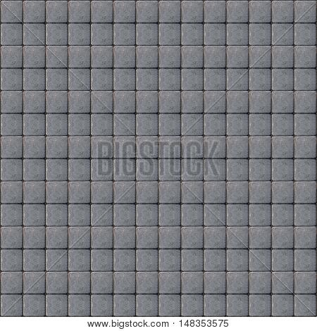 square gray tileable cobblestone texture pattern background