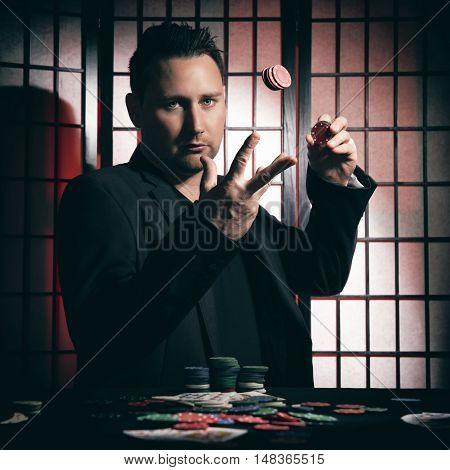 Arrogant High Stakes Poker Player