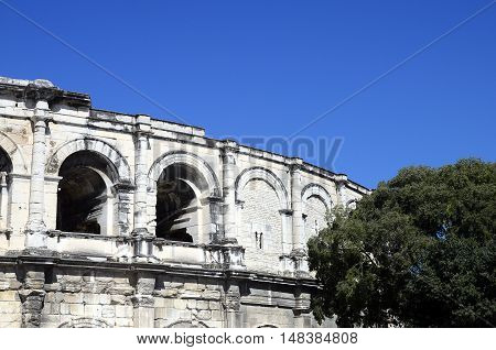 Arenas Of Arles In South France