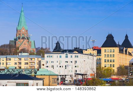 Stockholm. Sodermalm, Sofia Kyrka