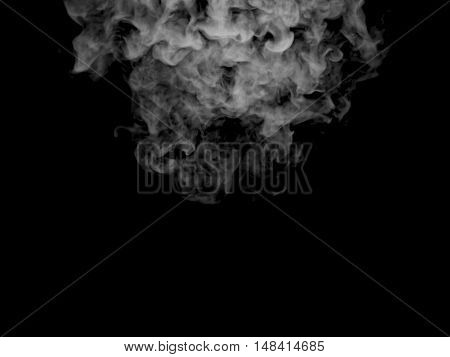 Illustration Of Grey Smoke