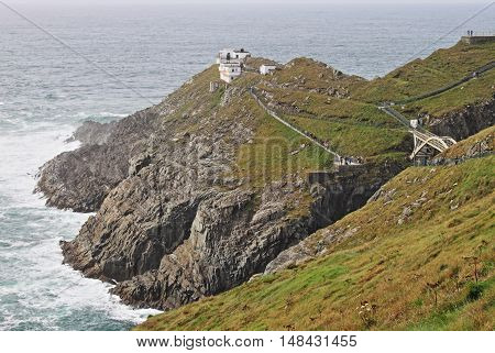 Mizen Head in County Cork Ireland - HDR