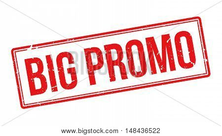 Big Promo Rubber Stamp
