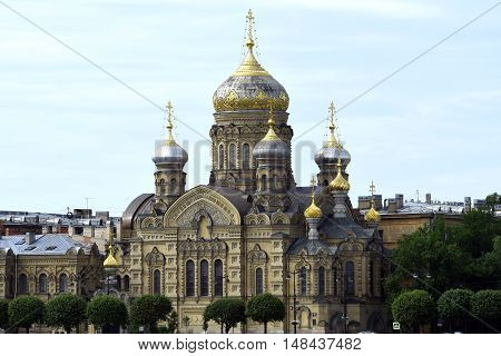 Church of the assumption of the blessed virgin, Saint Petersburg, Russia