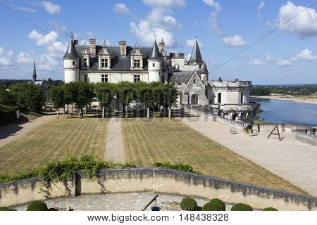 The Royal Chateau At Amboise