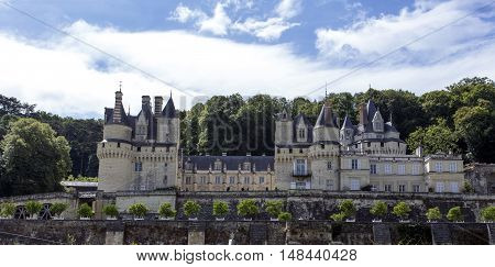 Usse Castle In Loire Valley, Rigny-usse, France