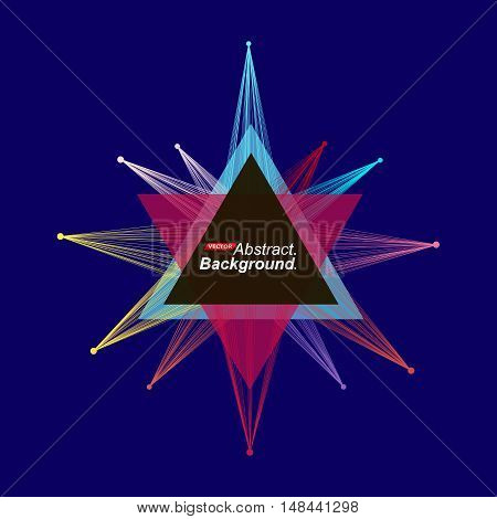 Abstract Model. Minimalistic Fashion Backdrop Design. Patch Space Star Shine Icon. Explosion Light F