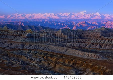Earth Forest Geopark In Ngari, Tibet